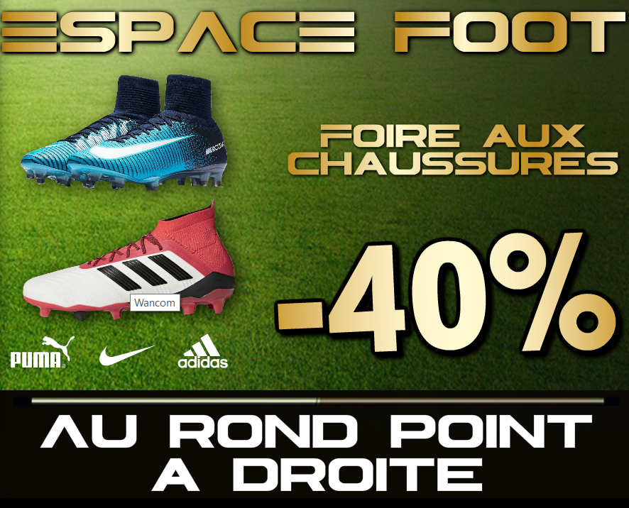 espace foot 40