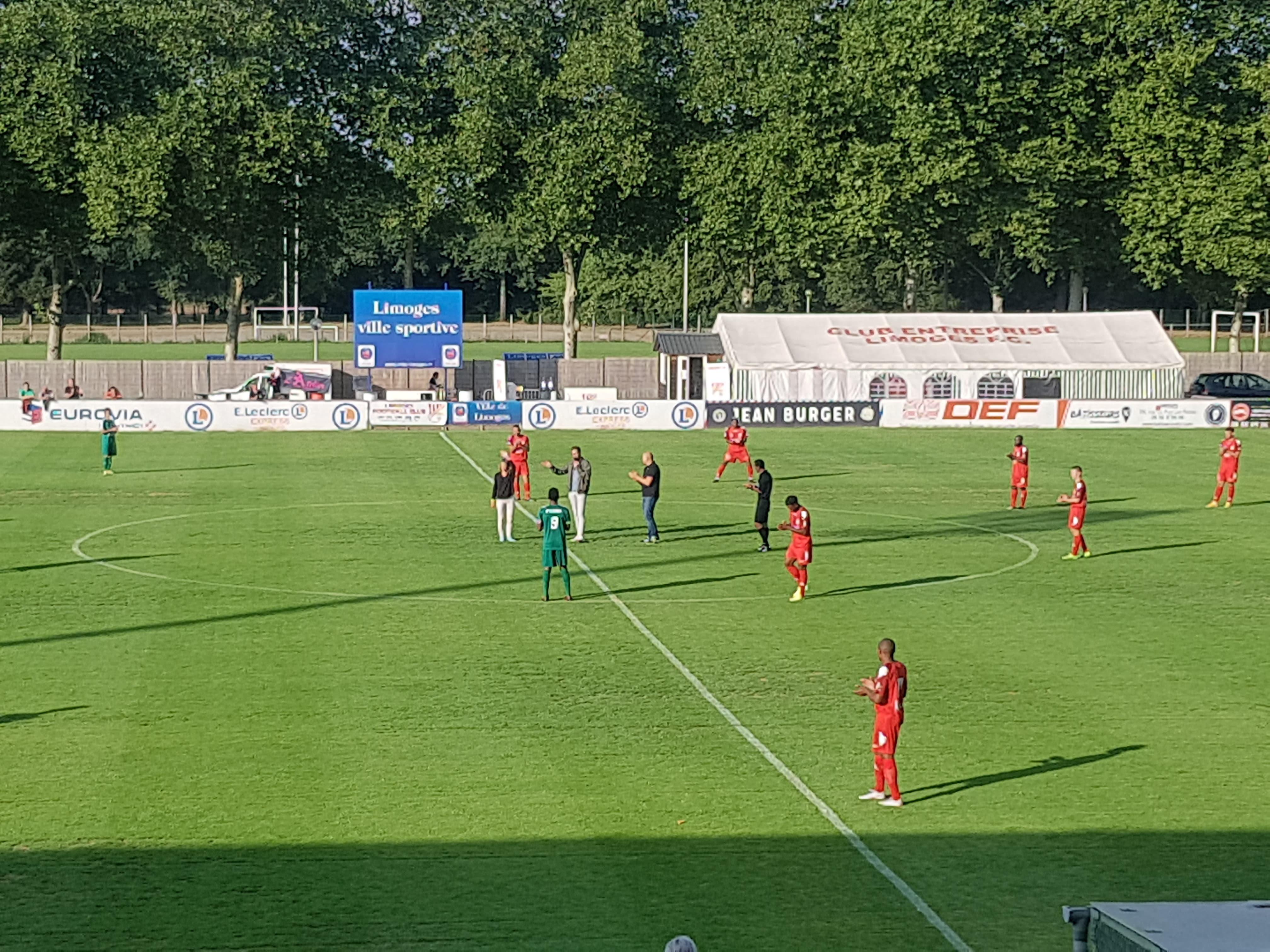 Limoges 1 – 0 Merignac Arlac, N3 (2)